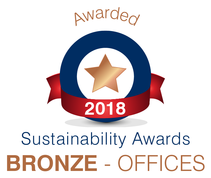 Sustainability Awards 2018 - Bronze