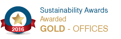 Sustainability Award Gold