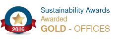 Sustainability Award Gold