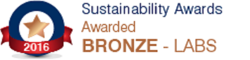 Sustainability award 2016 Lab Awards - Bronze Winner