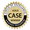 CASE Gold Award -  Relations and Community Relations Projects