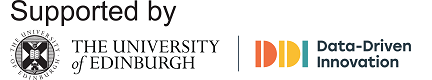 Supported by The University of Edinburgh Data-Driven Innovation Programme