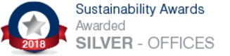 Sustainability Award: Awarded Silver 2018