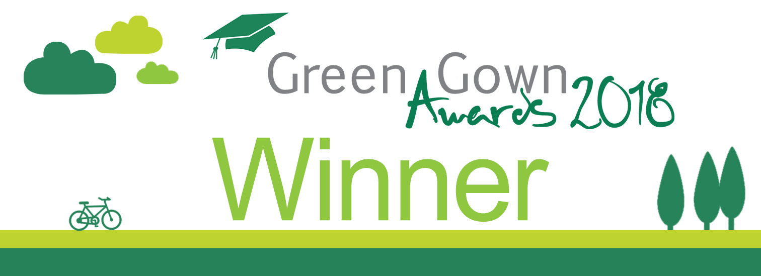 'Sustainability Institution of the Year' Green Gown Award winner