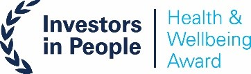 Investors in people award - Health & wellbeing