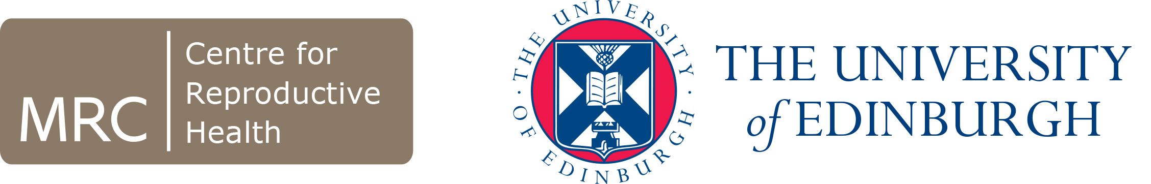 MRC CRH The University of Edinburgh logo