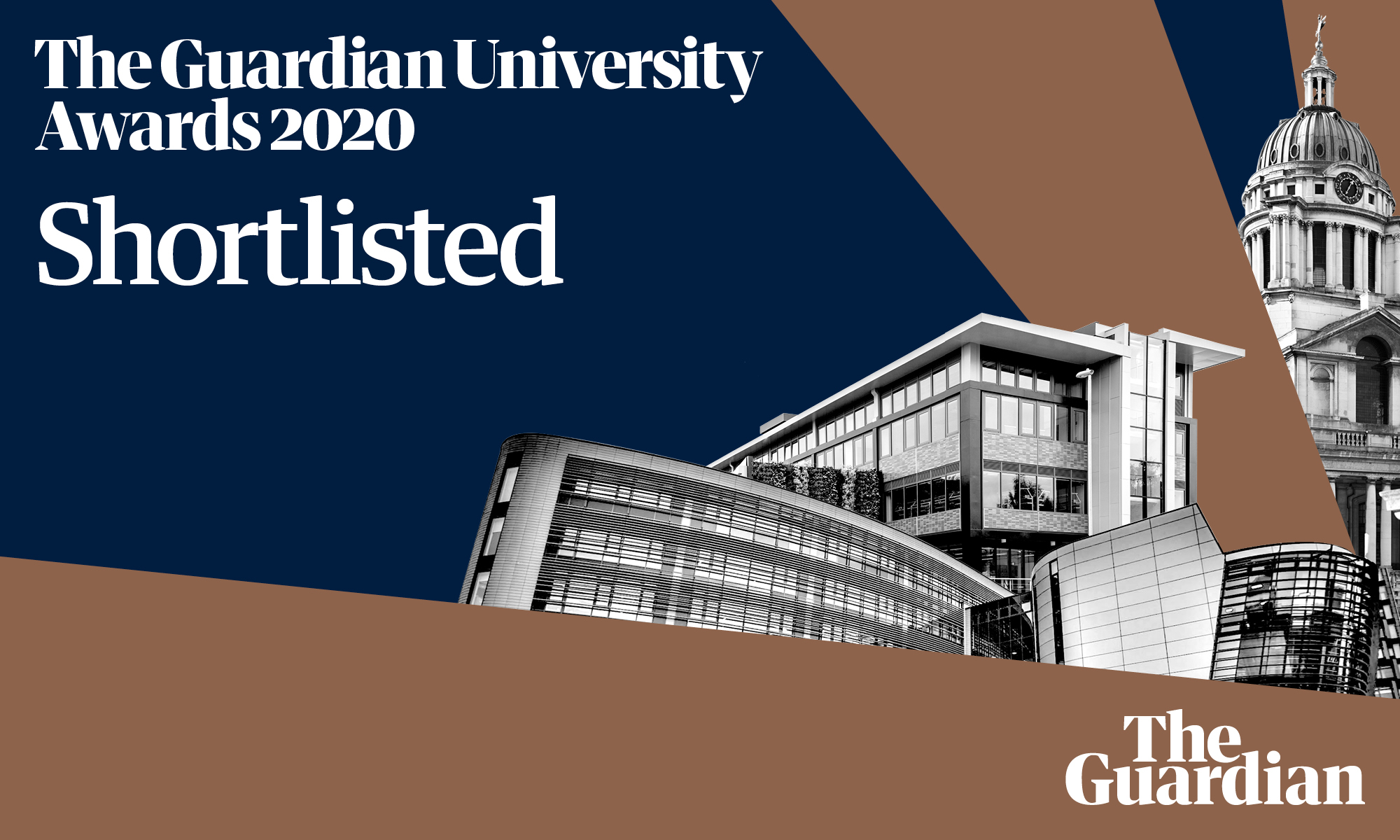 Shortlisted for the Guardian University Awards 2020