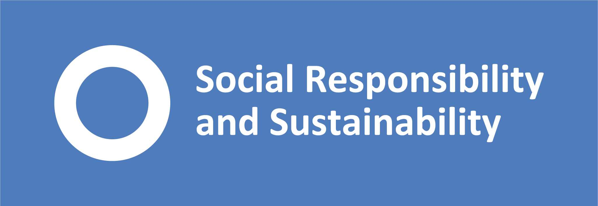 Department for Social Responsibility and Sustainability logo