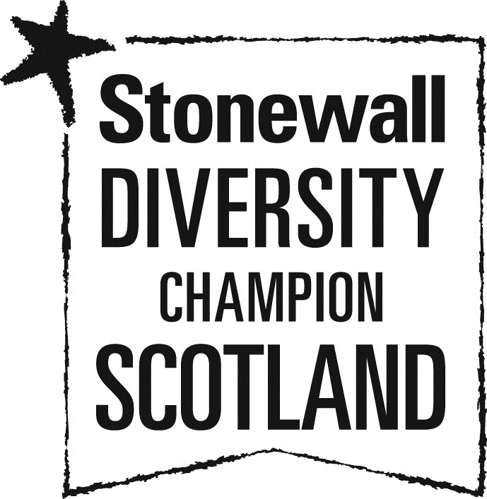 Stonewall Diversity  Champion Scotland