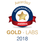 Sustainability Awards GOLD - Labs