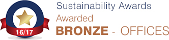 Sustainability Bronze Award 2016-17