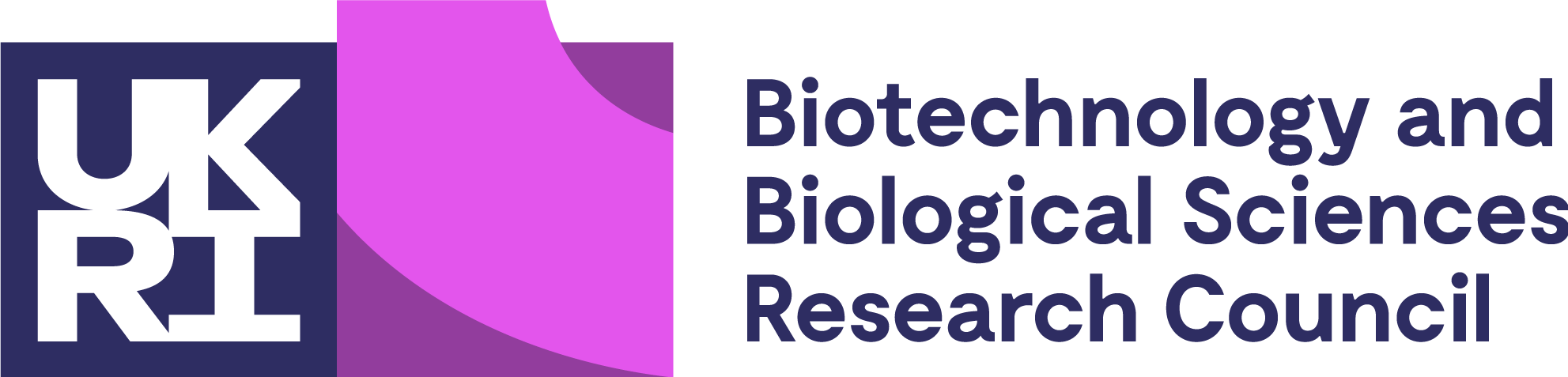UKRI and Biotechnology and Biological Sciences Research Council logo