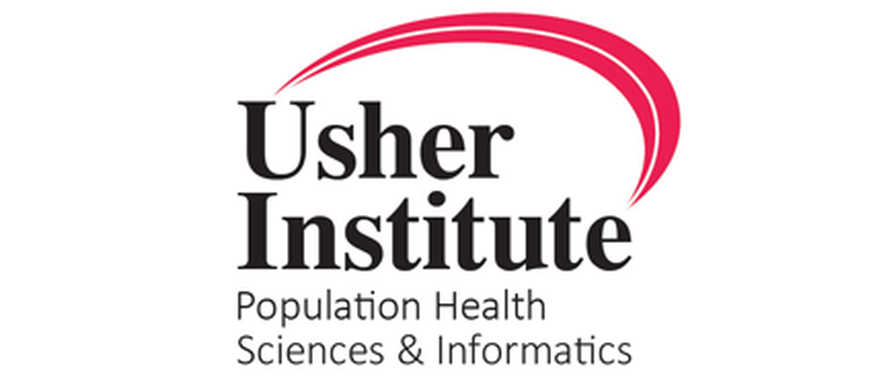 Usher Institute Population Health Sciences and Informatics Logo