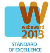 Standard of Excellence web award 2013