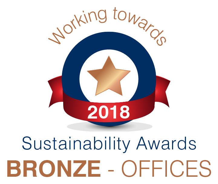 Office Sustainability Bronze Award