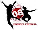 student festival 08 logo