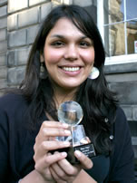 Nirupa Puliyel, International Student of the Year