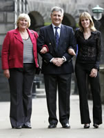 Su Caton, Eric Liddell's niece, Andy Irvine and Alison Ramsay