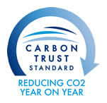 Carbon Trust Standard - Reducing C02 Year on Year