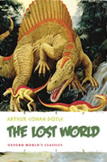 Book cover for The Lost World by Sir Arthur Conan Doyle