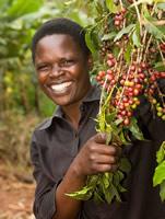 Jennipher Wettaka coffee farmer, Uganda