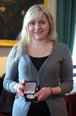 Research student Laura Bonsall