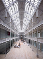 The Grand Gallery at the National Museum of Scotland