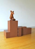 Urban Fox by Kenny Hunter