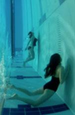 Sculpture student Katia Kvinge's underwater videos play with perspective