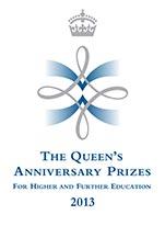 Queen's Anniversary Prizes logo