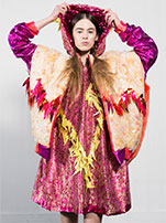 Photo of an outfit designed by Kiki McKenzie, 4th Year BA (Hons) Fashion