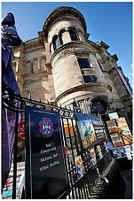 McEwan Hall signs
