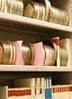 Sound archive shelves