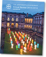 Image from the cover of the 2013-14 Annual Review