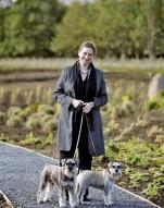 Caroline Freedman and dogs