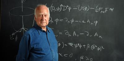 Peter Higgs, Emeritus Professor of Physics