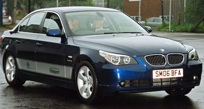BMW 530 saloon with Digital Displacement ® technology