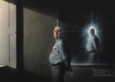 Peter Higgs, 2008, by Ken Currie
