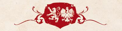 Illustration featuring coats of arms of Scotland and Poland