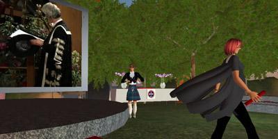 Second Life graduation