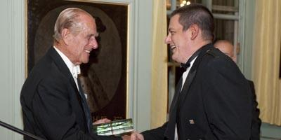 HRH Prince Philip, the Duke of Edinburgh and Dr Euan Brechin