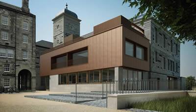 Exterior plans for the Edinburgh Centre on Climate Change