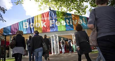 Entrance to the Edinburgh International Book Festival