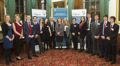 Student participants in the Lloyds Scholars Programme