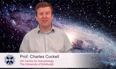 Prof Charles Cockell gives an online lecture on The Search for Extra-Terrestrial Life