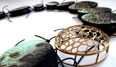 Kelly Munro's jewellery is inspired by Scotland's fishing heritage