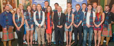 Photo of the University of Edinburgh's Commonwealth Games athletes