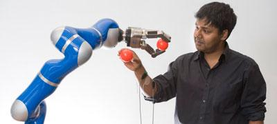Photo of Sethu Vijayakumar, Professor of Robotics