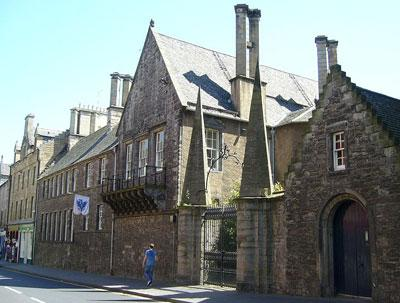 Recent photograph of Old Moray House