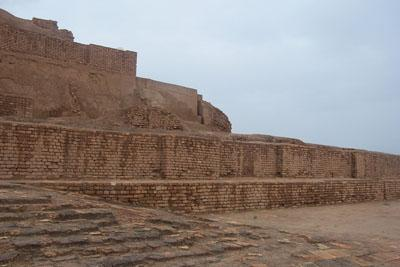 The ziggurat of Choga Zanbil